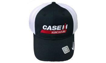 4b6308b56 Black/White NIKE Dry Mesh with Traditional Case IH Logo - 140095.  PaddedImage350210FFFFFF-160069-Custom-CAMO-CAPS.jpg