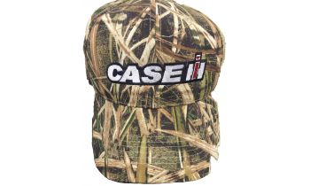 4356643f861 Hat- Mossy Oak Shadow Grass with Traditional Case IH logo- Adult- 150069-  RETIRING