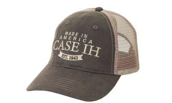 PaddedImage350210FFFFFF-190025-HAT-Khaki-Tea-Wash-Oil-Cloth-Mesh-CaseIH-1842-Logo-ADULT-1SFA-002.jpg