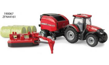 PaddedImage350210FFFFFF-190067-ZFN44161-1-64-Case-IH-Maxxum-145-Tractor-w-Round-Baler-Mower-Conditioner-Set.jpg
