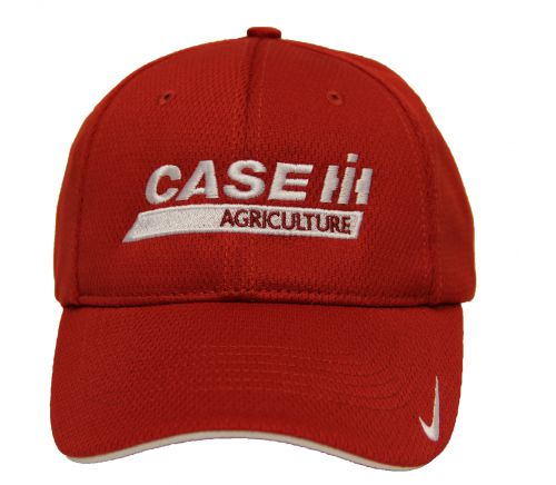 Red Nike Dry Mesh Hat  White Case IH Logo -Fitted- 100103 » Case IH  licensed products f90606e7200