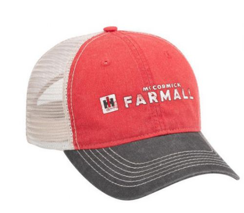 e24dc912ed22f Hat- Red White Black Farmall Mesh Back- Adult- 180036 » Case IH licensed  products
